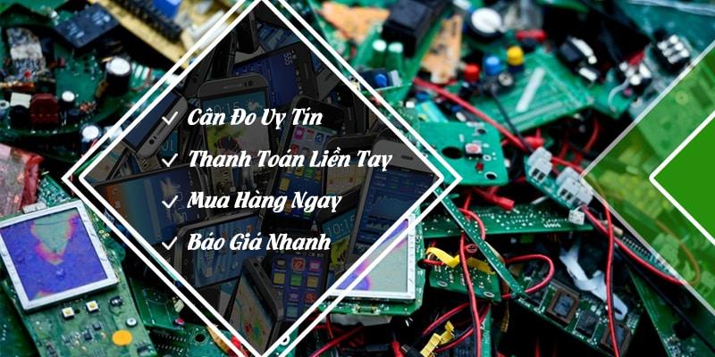 Thu mua phế liệu điện tử giá cạnh tranh tại Mua Phế Liệu 24H