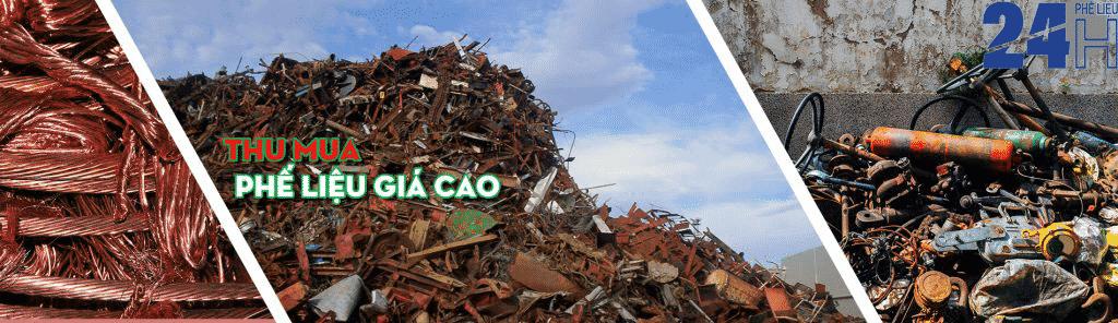 Dịch vụ thu mua phế liệu giá cao Ninh Thuận